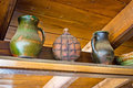 Two jugs and copper canteen Royalty Free Stock Photography