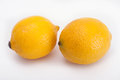 Two lemons Royalty Free Stock Photo