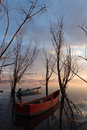 Two little fishing boats