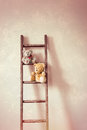 Two Little Teddy Bears Royalty Free Stock Photo