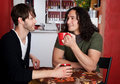 Two Male Friends Royalty Free Stock Photography