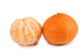 Two mandarins Stock Photo