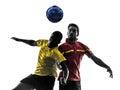 Dos hombres jugador bola