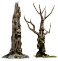 Two monster trees
