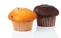 Two muffins Stock Photo