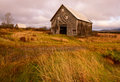 Two old barns this is a rustic looking but is a funtionable building taken in main Royalty Free Stock Photography