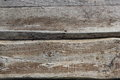 Two old textured boards horozontal background photo Stock Photos