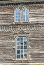 Two old window detail orthodoxy church pobirka near uman ukraine europe Royalty Free Stock Images