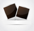 Two photo frames Royalty Free Stock Photos
