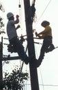 Two repairmen Royalty Free Stock Photo