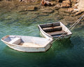 Two Rowboats Stock Image