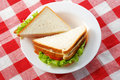 Two sandwiches Stock Photo