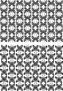 Two seamless patterns Royalty Free Stock Images