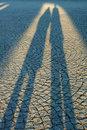 Two Shadows Royalty Free Stock Images
