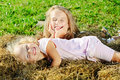 Two sisters Royalty Free Stock Photo