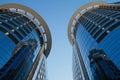 Two skyscraper orlando miami Stock Photo