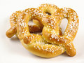 Two Soft Pretzels Stock Image