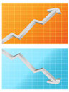 Two statistics pictures Royalty Free Stock Photography