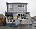 Dom poškodené podľa zemetrasenie