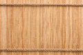 Two straight rope on a bamboo mat Royalty Free Stock Photo