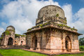 Two tombs the in mandu or mandavgad mandu is a ruined city founded as a fortress retreat by raja bhoj in th century Stock Images
