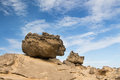 Two very large rocks ready to roll down Royalty Free Stock Photos