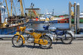 Two vintage Zündapp motorbikes Royalty Free Stock Photo