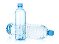 Two water bottles Royalty Free Stock Photo