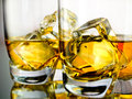 Two whiskeys Royalty Free Stock Photo