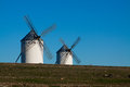 Two windmills Royalty Free Stock Photo