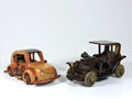 Two Wooden Toy Car Royalty Free Stock Photo