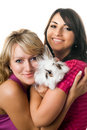 Two young wome Stock Images