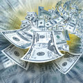 Twoje pieniądze Fotografia Royalty Free