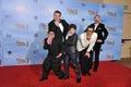 Ty Burrell, Rico Rodriguez, Nolan Gould, Jesse Tyler Ferguson, Eric Stonestreet Royalty Free Stock Photo