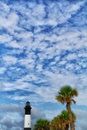 Tybee island light house lighthouse savannah georgia Royalty Free Stock Photography