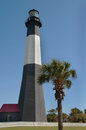 Tybee Island Light in Savannah, Georgia Stock Photo