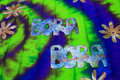 Tye Dye Pareo Royalty Free Stock Photo
