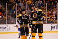 Tyler Seguin and Zdeno Chara Royalty Free Stock Photo