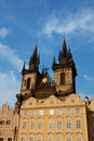 Tyn Church in Prague Royalty Free Stock Photos
