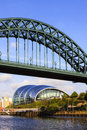 Tyne bridge Royalty-vrije Stock Foto