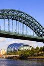Tyne bridge Foto de archivo libre de regalías