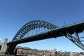Tyne bridge newcastle Royalty-vrije Stock Afbeeldingen