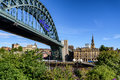The Tyne Bridge Newcastle upon Tyne, England: UK Royalty Free Stock Photo