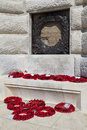 Tyne Cot Blockhouse at Tyne Cot Cemetery in Ypres Stock Images