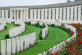 Tyne Cot cemetary Royalty Free Stock Images