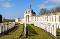 Tyne cot war graves at Royalty Free Stock Image