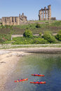 Tynemouth Kayakers Royalty Free Stock Images