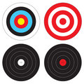Types of Targets Royalty Free Stock Image