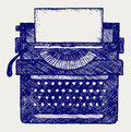 Typewriter Royalty Free Stock Photography