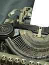 Typewriter the that has been used in the last century Stock Photography